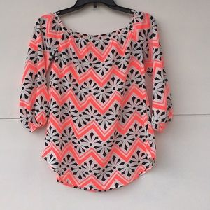 Charming Charlie Tops - Charming Charlie's off the shoulder blouse